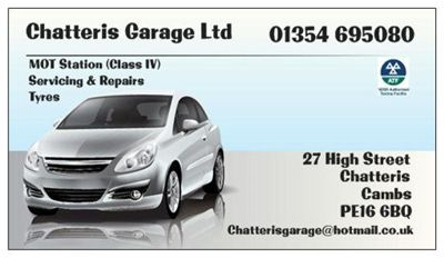 Chatteris Garage Ltd Ivan Street