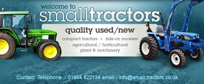 Small Tractors.com advert
