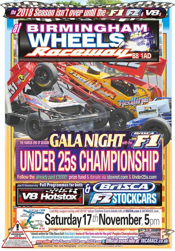 2018 BriSCA Gala Night - at Birmingham